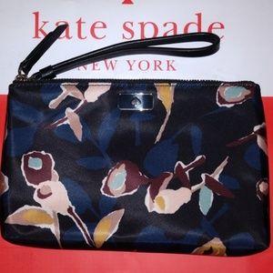 Kate Spade Dawn Paper Rose Medium Wristlet